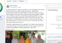 Facebook - RK jawab Adawiyah