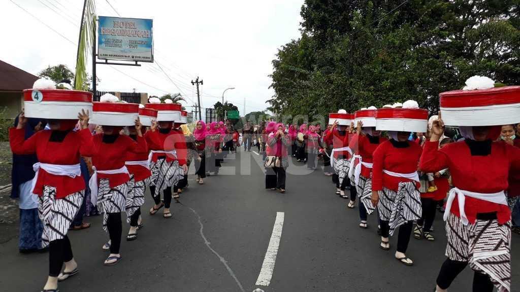 Festival Grebeg Suran di Baturraden, Banyumas, pada 15-10-2017